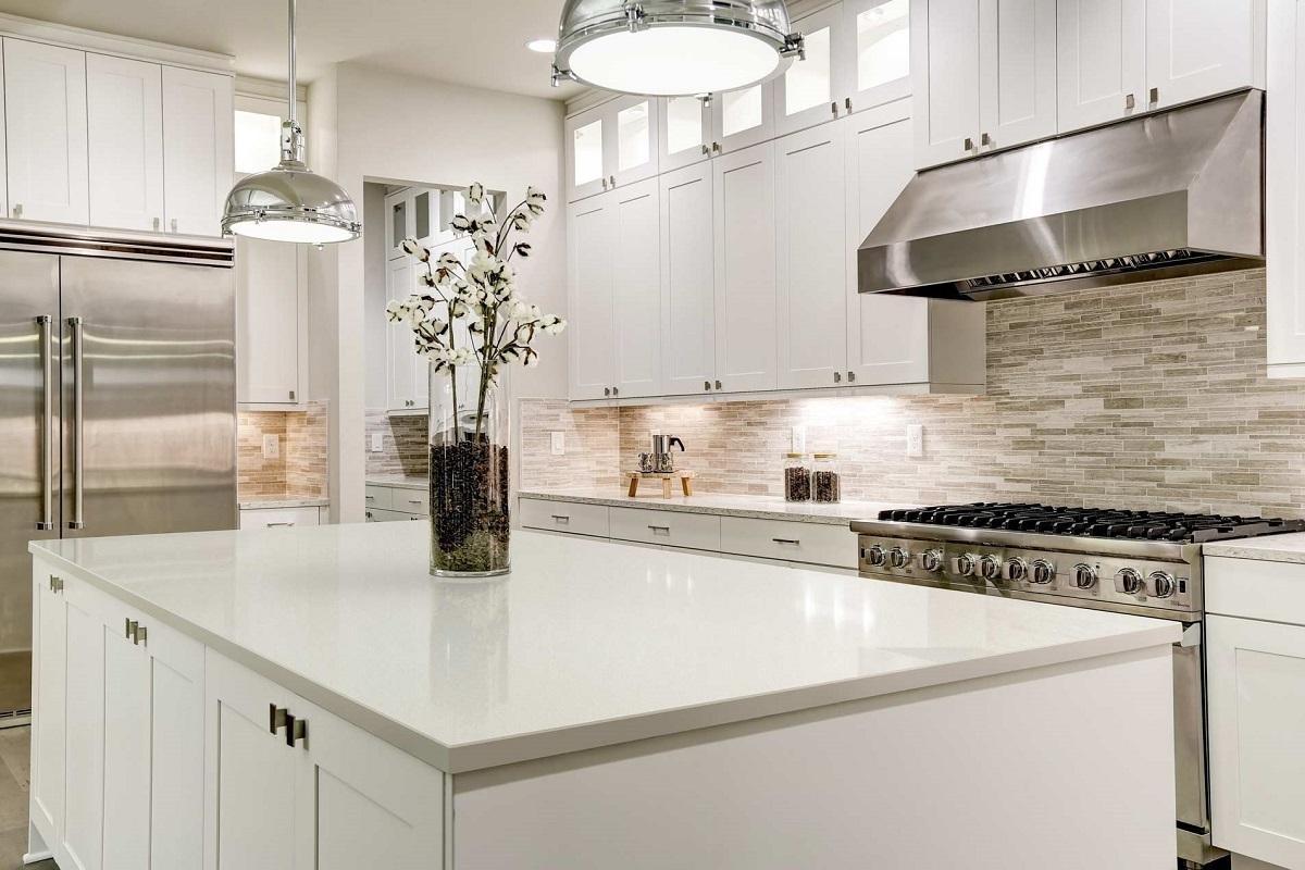 Enhance Your Modern Kitchen With White Quartz Countertops
